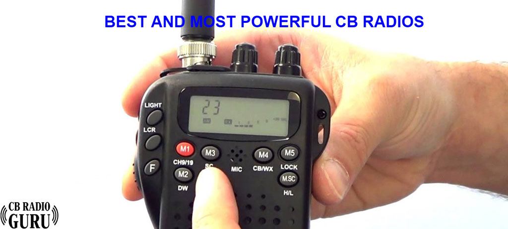high performance and most powerful CB radios