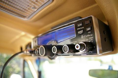 A good CB radio in a vehicle