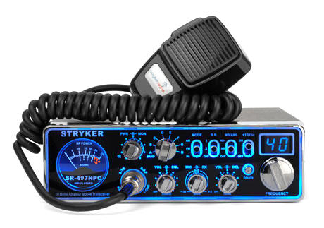 Stryker SR-497-HPC is a stylish and top quality CB Radio. This CB from Stryker gives great features at affordable price tag. It's power usage is another highlight