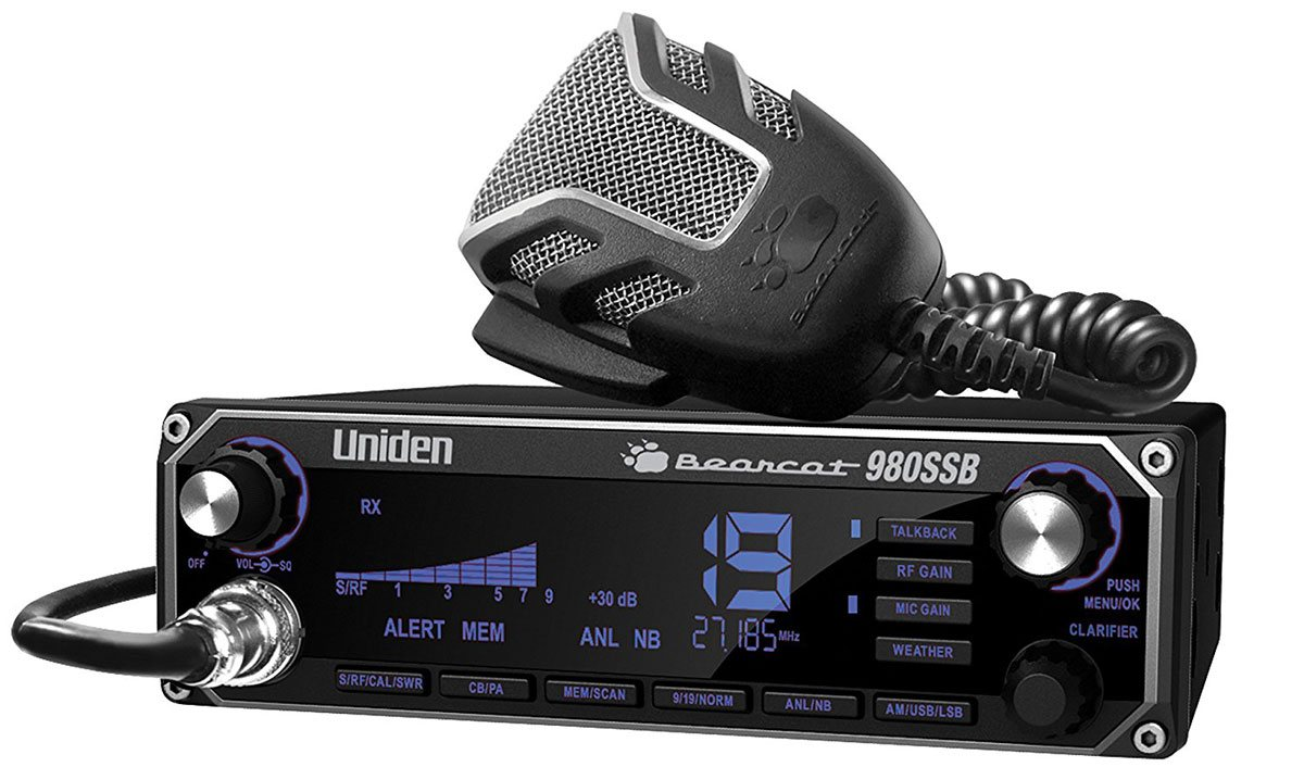 Uniden 980 SSB is a top rated BEARCAT CB Radio is a 7 colored display CB with weather channel capability