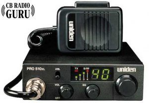 Uniden PRO 510XL is one of the best rated heavy duty cb radio.