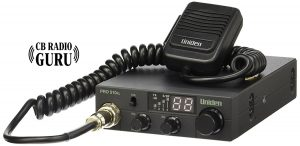 Uniden PRO510XL is a stylish compact CB radio