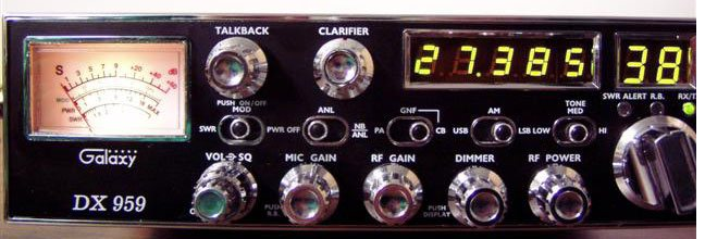 Review of Galaxy's SSB CB Radio DX959