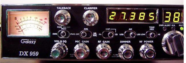 Review of Galaxy's SSB CB Radio DX959
