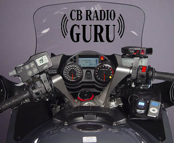 portable CB radio for motorcycles
