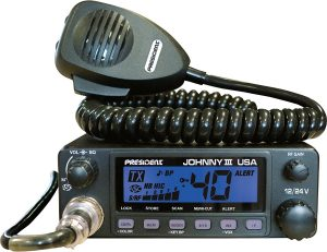 CB Radio President Johnny III is a great buy for those who are looking for long range CB Radios