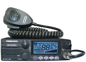 Mckinley CB radio from President is a nice to CB to have for your vehicle
