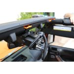 A great CB radio mount for your jeep, this Rugged Ridge product is a must have one.