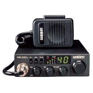 This is a small CB radio you can buy if there is a space limitation in your vehicle