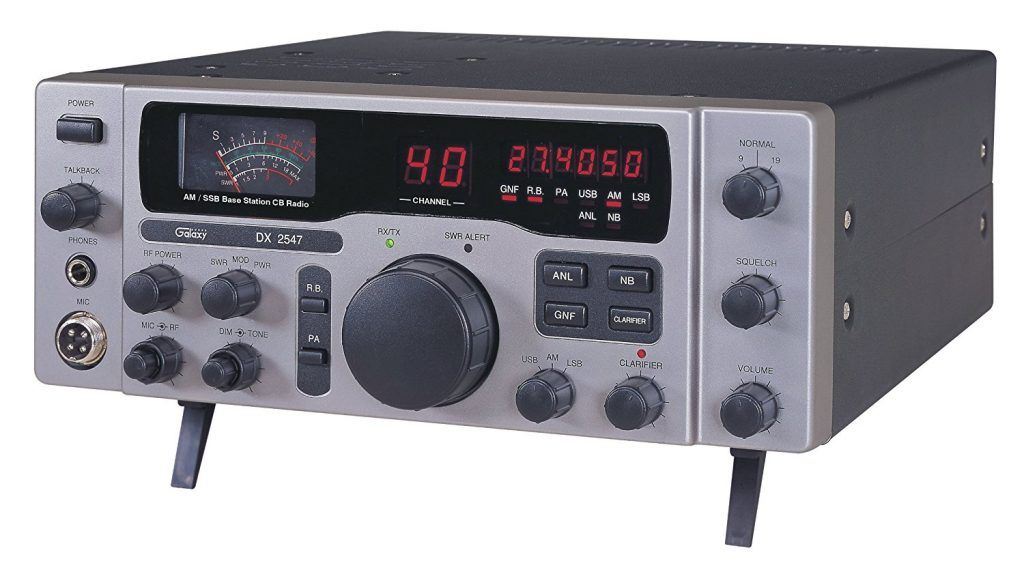 Galaxy DX 2547 is a wonderful home base CB radio in the market