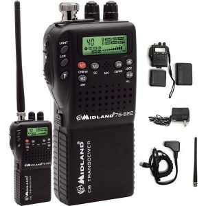 A stylish mobile CB radio is shown in the pic. This compact CB radio is designed to make the user experience smoother and better.