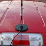 Magnetic mount CB antenna are very easy to install