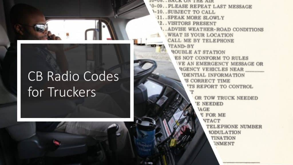 CB codes for truckers