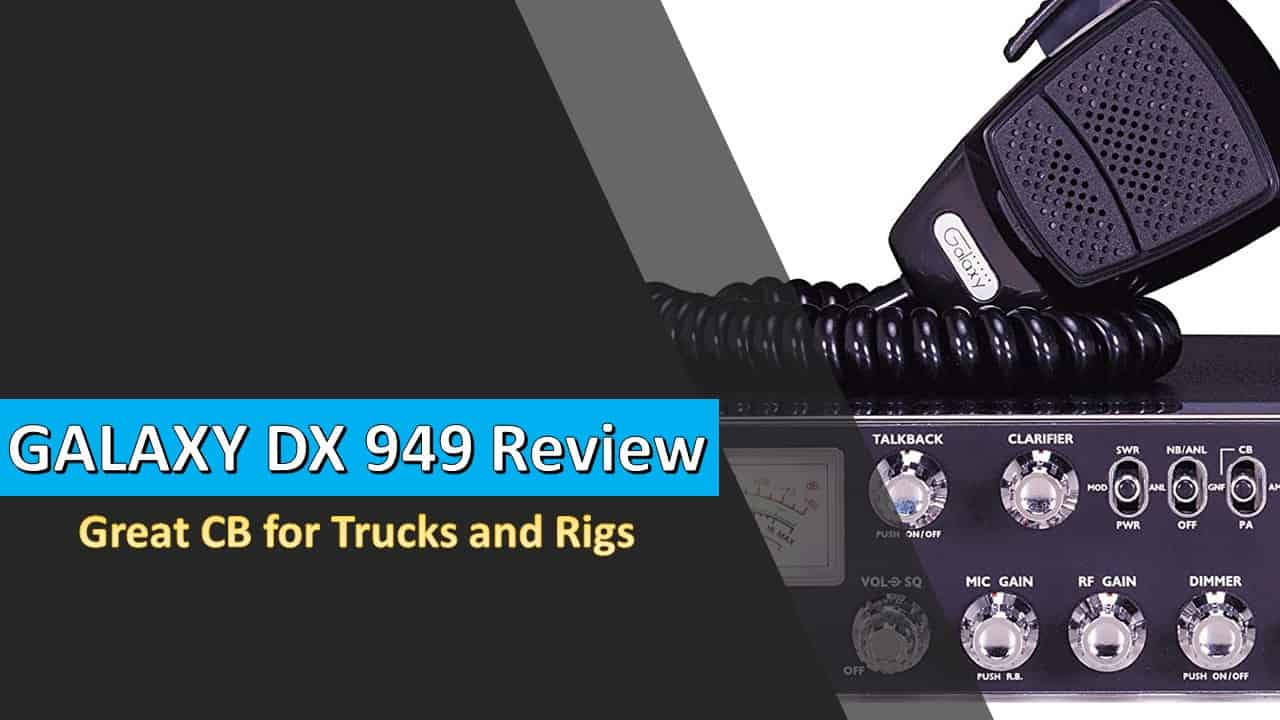 Galaxy DX 949 is an amazing CB radio to use for rigs and trucks