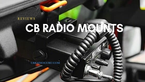 CB radio mount reviews